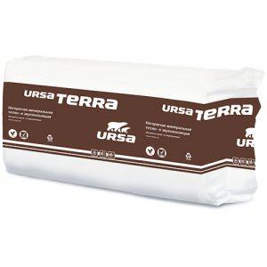 Утеплитель URSA TERRA 37PN (10шт-1250*610*100мм) 0,7625м3  7,63м2