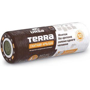 Утеплитель URSA TERRA 35QN Скатная крыша (1шт-3900*1200*150мм) 0,702м3  4,68м2