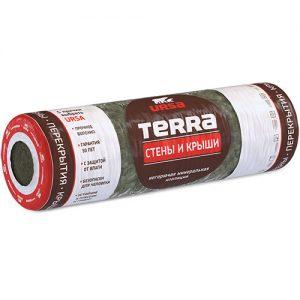 Утеплитель URSA TERRA 37RN Стены и Крыши (4000*1220*150мм) 0,732 м3  5,76м2