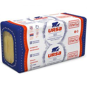 Утеплитель URSA GEO Универсальные плиты (5шт-1250*600*100) 0,375м3  3,8м2