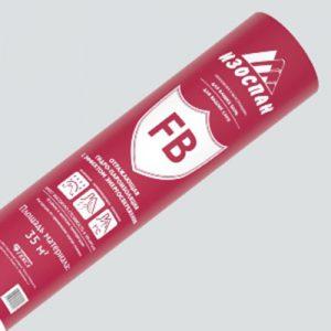 Изоспан тип FB (Паро-гидроизоляционный двухслойный материал из крафт-бумаги c алюм фольгой) 35м2