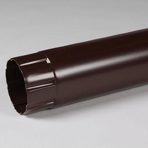Труба водосточная Престиж D100х3000  8017 Шоколад